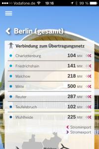 Iphone App: Berliner Netze