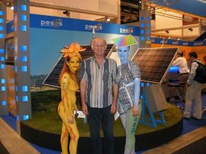Eigenstrom aus PV - nicht nur sexy... - Der Sonnenflüsterer auf der Intersolar