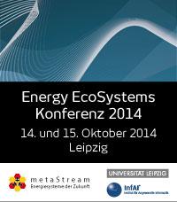 Energy EcoSystems Konferenz 2014 in Leipzig