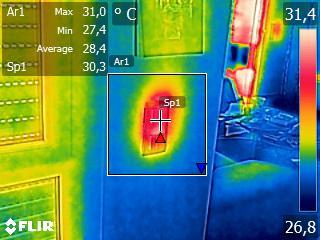 Erwärmung durch Stromverbrauch von Schaltaktoren