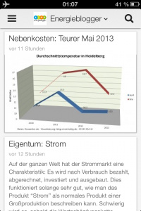 Preview: blog.Stromhaltig im Energieblogger Magazin