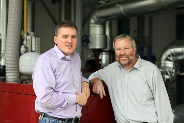 Christian Pohl (links) und Prof. Dr. Ralf Simon, die Gründer der SP EnergyControl GmbH