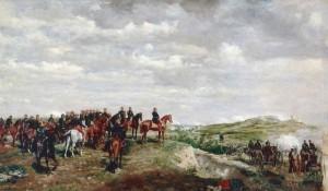 Napopleons Truppen bei der Schlacht von Solferino