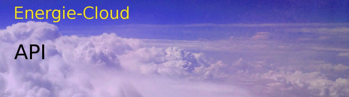 Energie Cloud mit einigen neuen API Funktionen 3