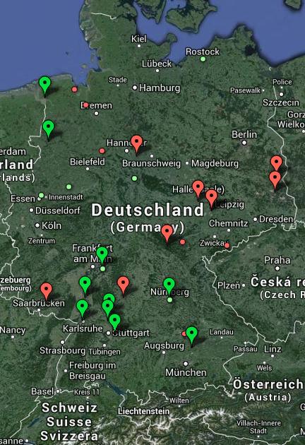 Eingriffe in das Stromnetz - Februar 2014