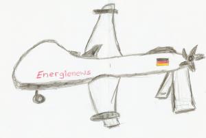 Drohne des Nachritendienstes Energiewirtschaft