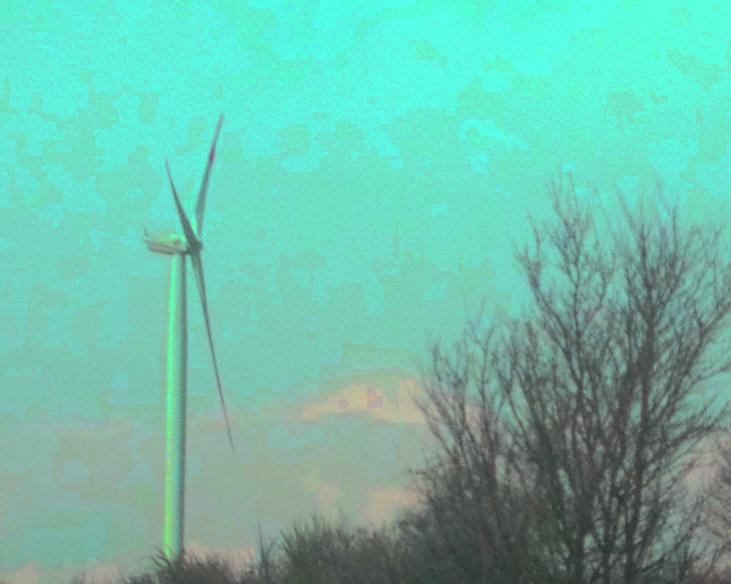 29.04. Flaute Dienstag - die Stromversorgung hält. 1