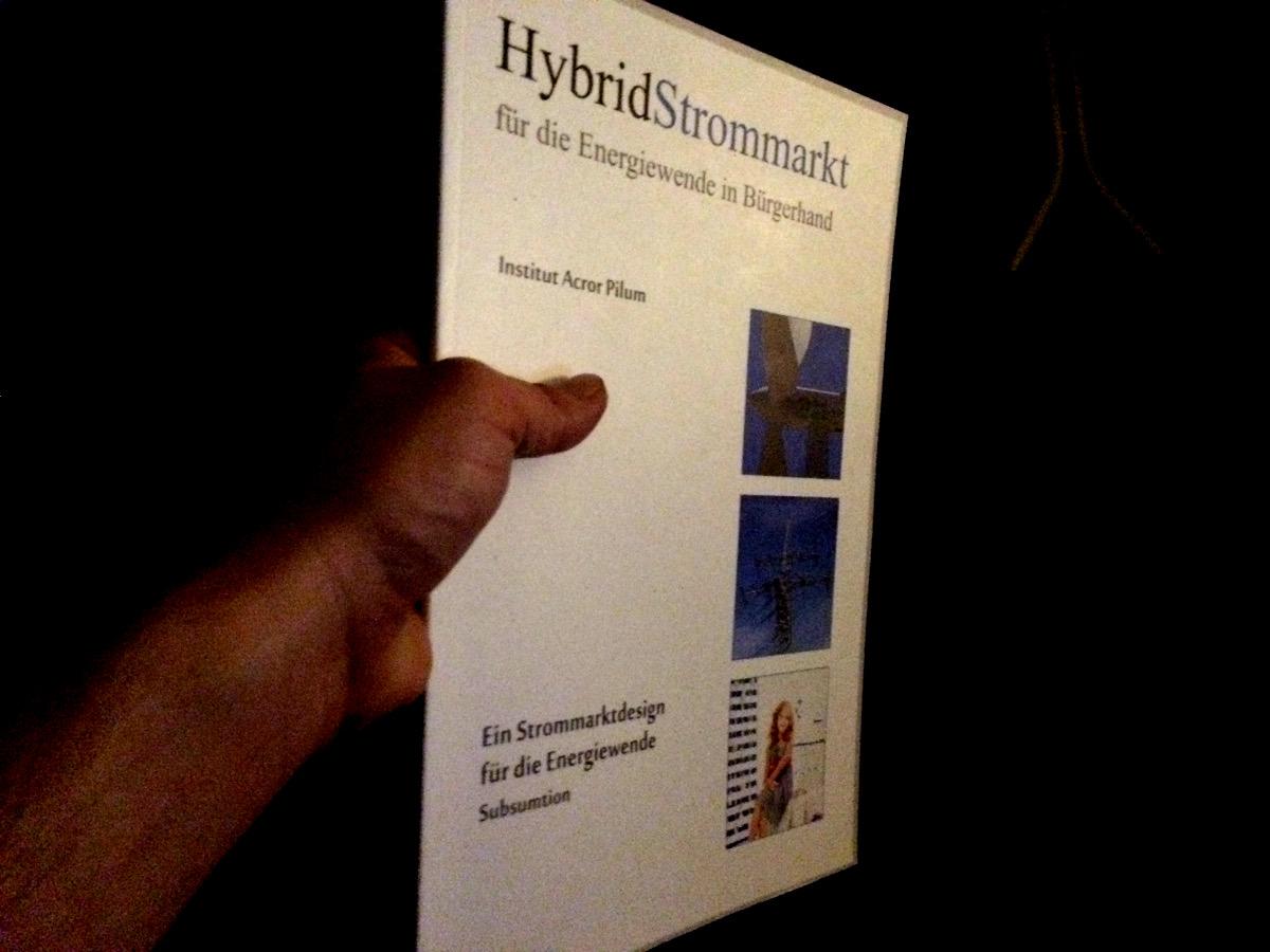 Büchereien aufgepasst: Buch zum Hybridstrommarkt zu verleihen! 1