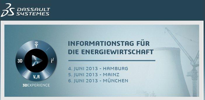 Informationstag Energiewirtschaft - Juni 2013