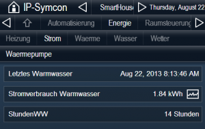 Internet Of Things: Warmwasser