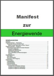 Manifest zur Energiewende