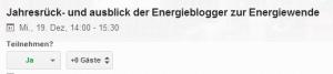 Die Energieblogger gehen OnAir