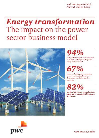 Wandel des Geschäftsmodells der Energieversorger