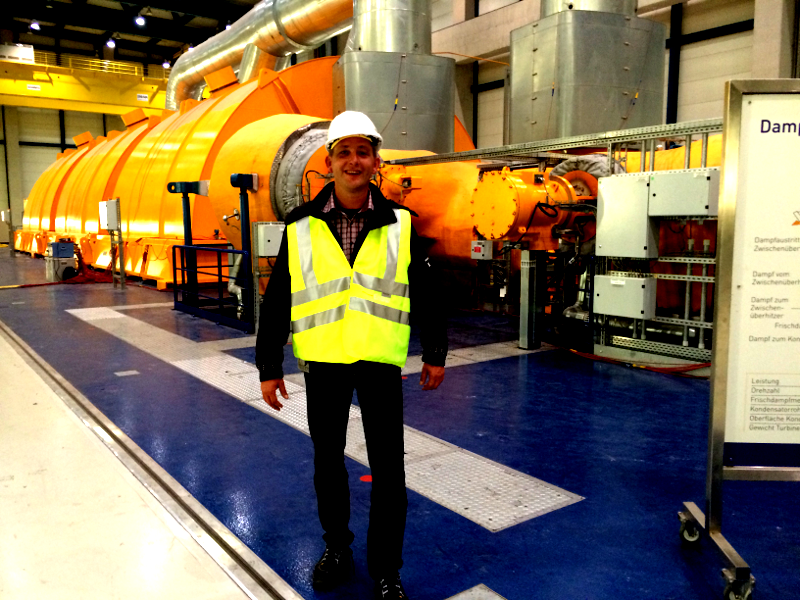 Rhein-Dampfkraftwerk Karlsruhe vorübergehend nicht verfügbar 3