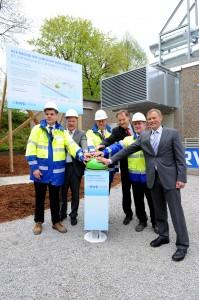 """RWE erzeugt Strom durch Druck aus dem Gasnetz / Projekt """"Pressure to Power"""" offiziell in Lüdenscheid eröffnet (BILD)"""