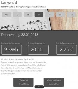 Stromhandel für Jedermann - Das Angebot