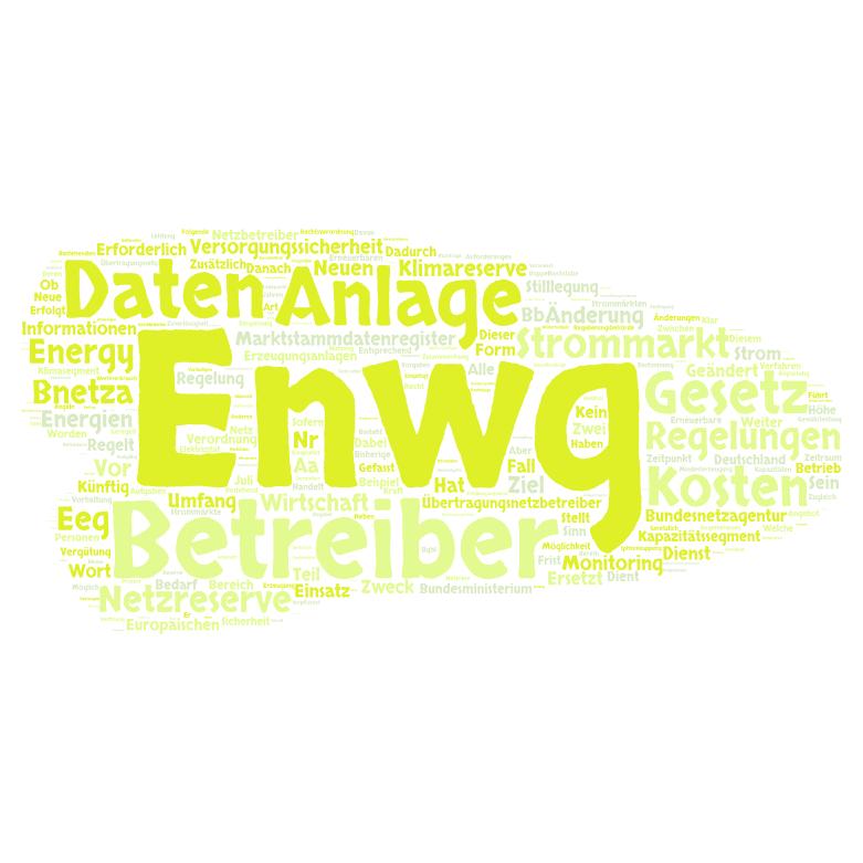 Strommarktgesetz - Referententwurf