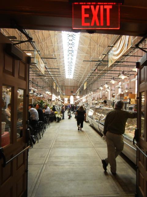Supermarkt für Journalisten-Futter
