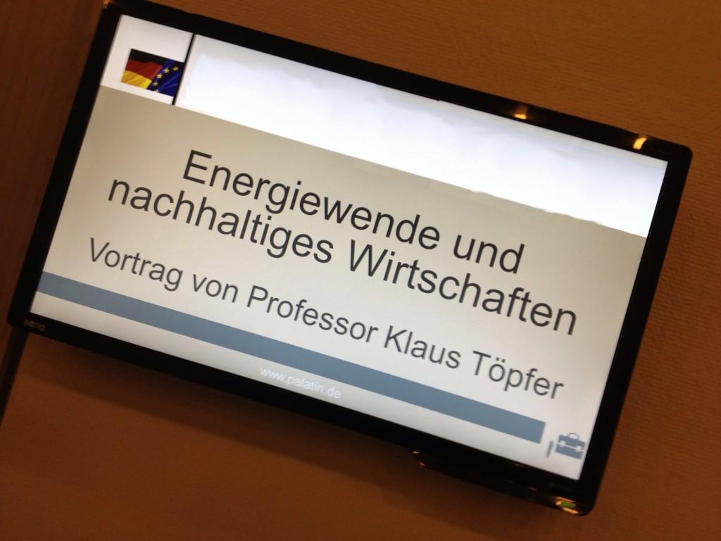 Energiewende und nachhaltiges Wirtschaften